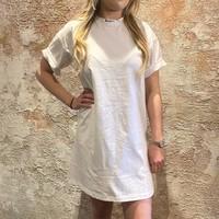 Miami Long T-shirt white