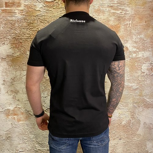 richesse Ted Shirt Black
