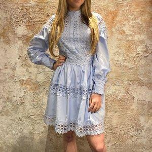 Have2have jurkjes Jurkje blauw kant