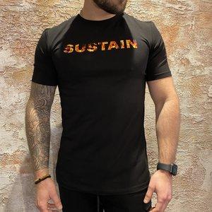Sustain Flame logo t-shirt black