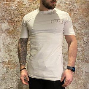 Sustain Back Logo regular t-shirt off white