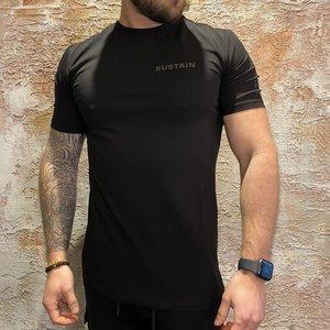 Sustain regular t-shirt black 2104