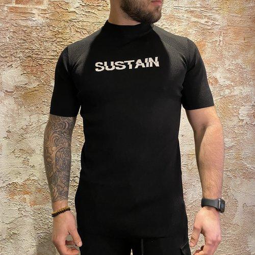 Sustain Knit pullover logo