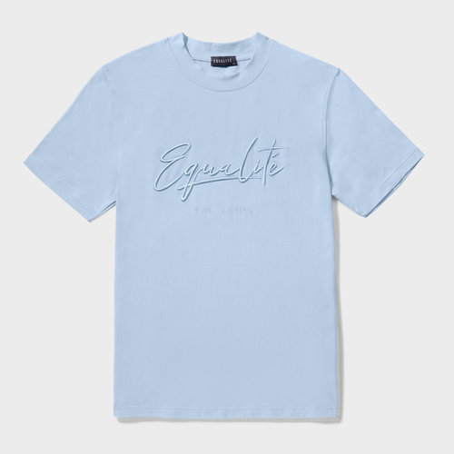 Equalite Wafi tee Light Blue