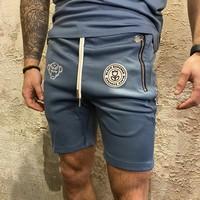 F.C Short Blue