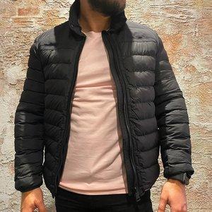 Airforce padded jacket true black