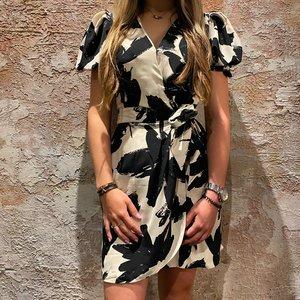 Morgan Ranou Black White Dress