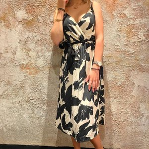 Morgan Rlover Black White Dress