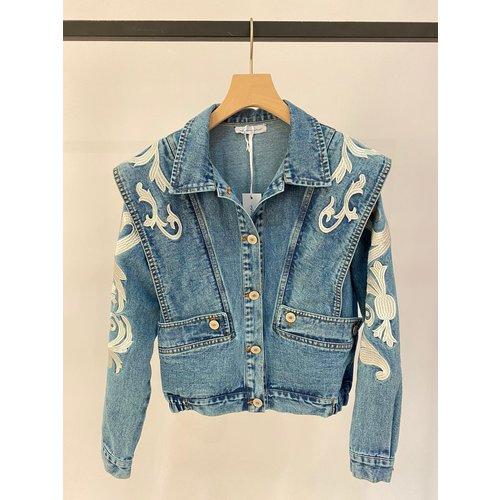 Have2have jurkjes Biker jack Blue