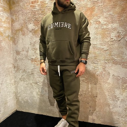 Lumiere Tracksuit Army Green
