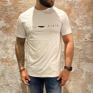 Sueno t-shirt feather white