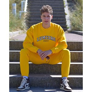 Lumiere tracksuit yellow