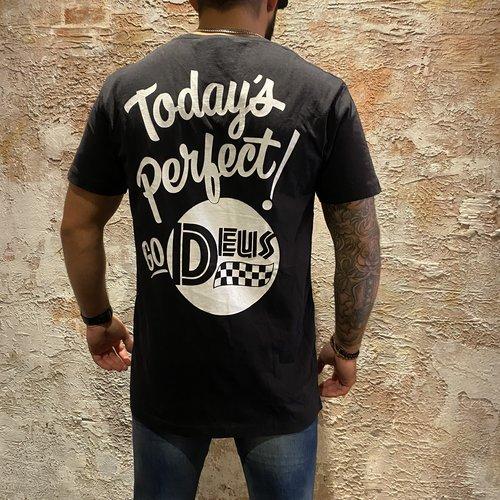 Deus t-shirt todays perfect black