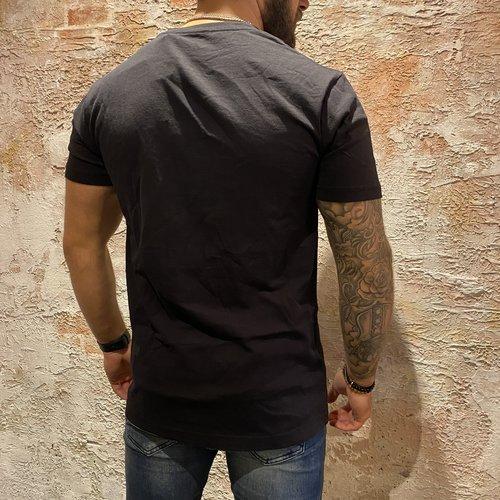 Deus t-shirt tracks black