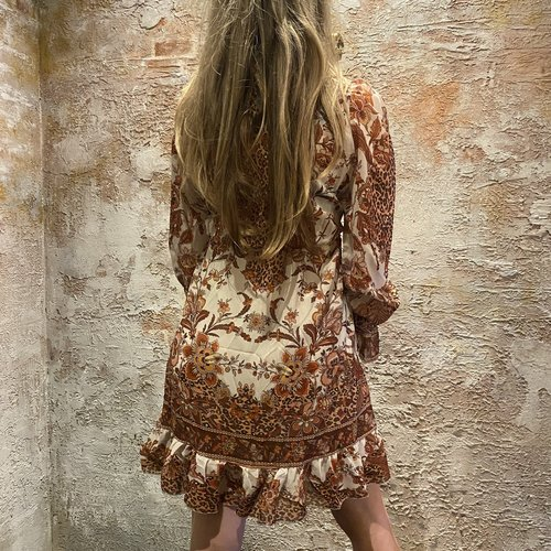 Have2have jurkjes Jus de Pom dress beige