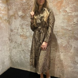 Have2have jurkjes Long dress luipaarden print