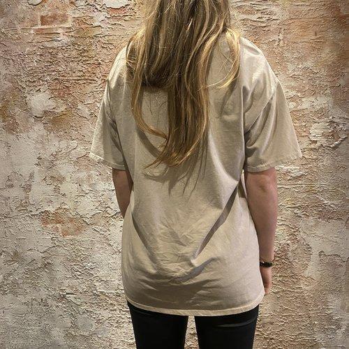 Have2have jurkjes Oversized t-shirt Rock Roll sand