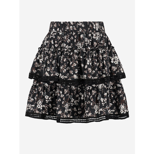 Nikkie Tape Flower skirt