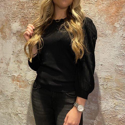 Morgan de Toi Mishi top black