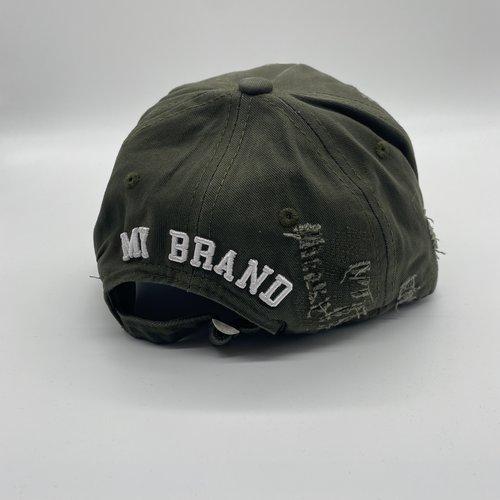 MyBrand Cap Icons Army White