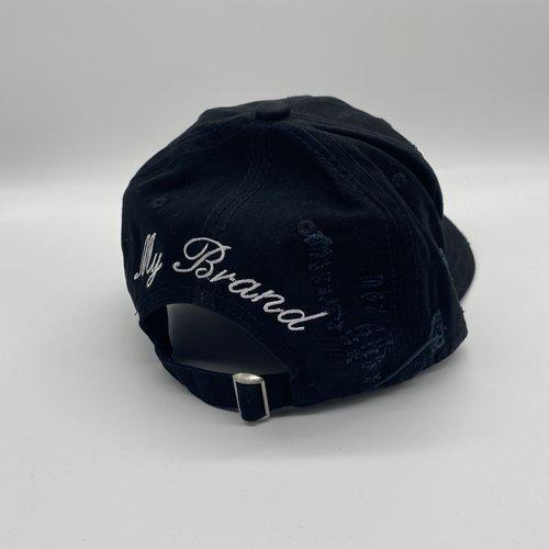 MyBrand Cap Icons Black Cap