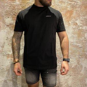 Purewhite Box fit tshirt black