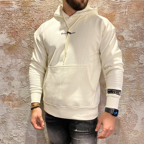 Quotrell Lousiana Hoodie Off white