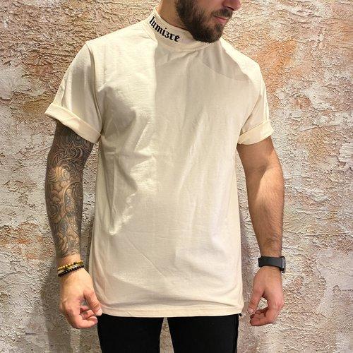 Lumiere Turtleneck White T-shirt