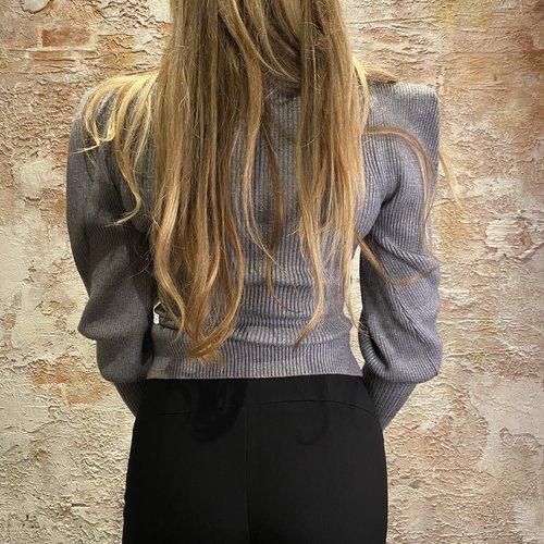 Morgan de Toi MRobio Pullover grey