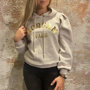 Morgan de Toi Logo Hoodie Beige/Gold