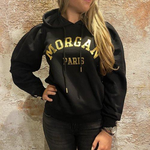 Morgan de Toi Logo Hoodie Black/Gold