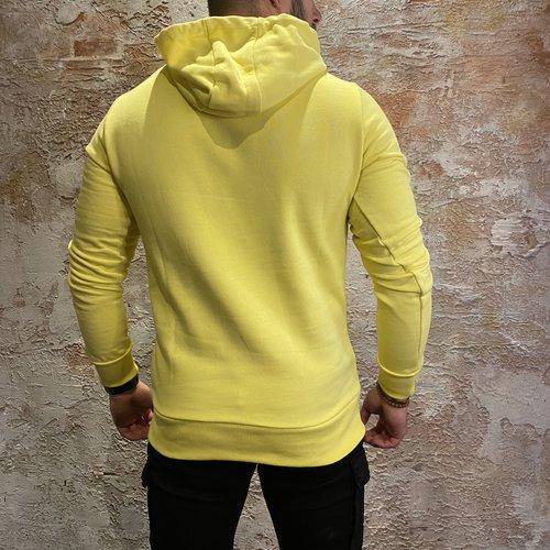 Ballin Amsterdam Logo Hoodie Yellow