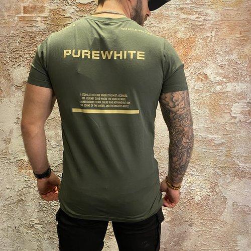 Purewhite Back text Dark Army