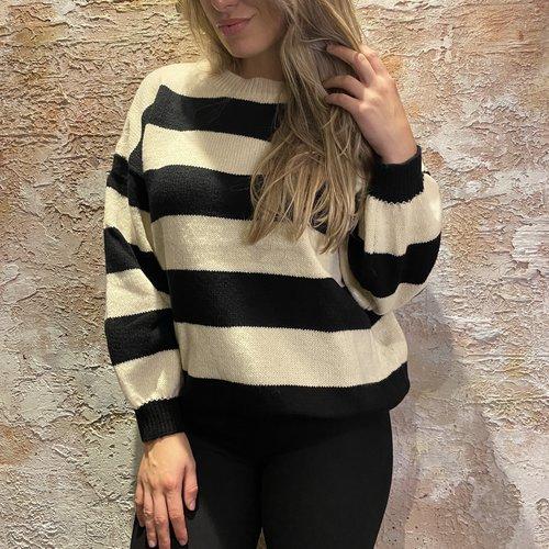 Have2have jurkjes Stripe pullover oversized