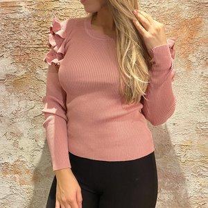 Have2have jurkjes Top Ruches Oud roze