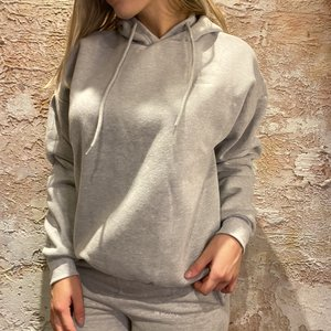 LA Sisters Essential Hoodie Grey