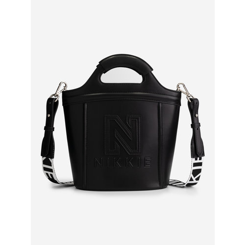Nikkie Polly Rubber bag zwart