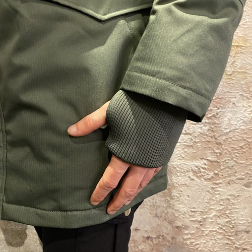 Airforce Jacket Slimfit Parka Duffelbag