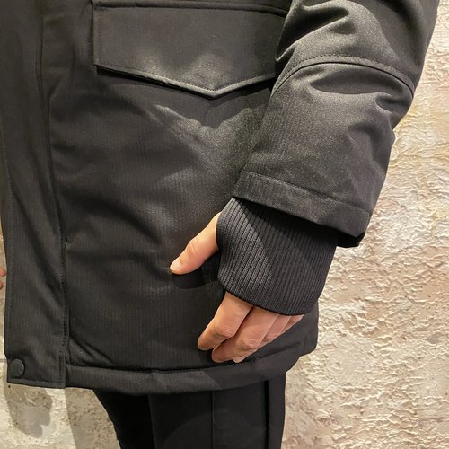 Airforce Jacket Slimfit Parka True Black