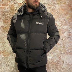 Equalite Oda Puffer Jacket Black