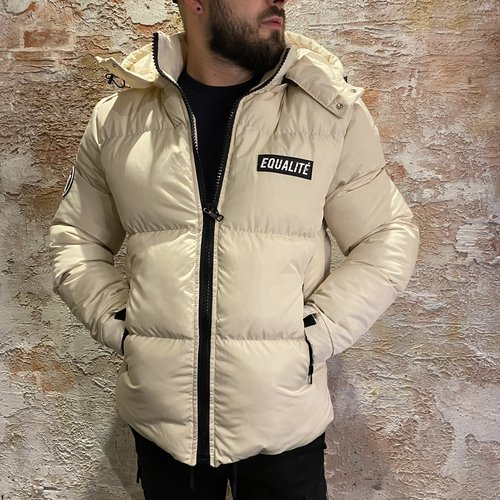 Equalite Oda Puffer Jacket beige