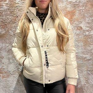 Nikkie Alexa Puffer Coat Cream
