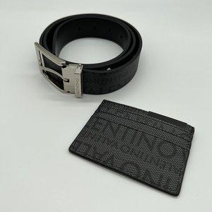 Valentino by Mario Valentino Gambit Belt Nero