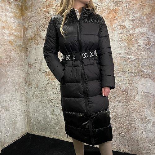 Nikkie Anna Puffer Coat Black
