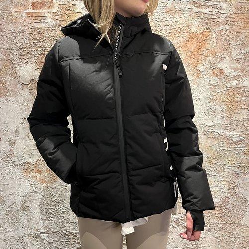Nikkie Logo Chest Ski jacket Black