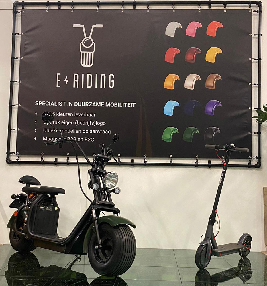 Elektrische Scooters E-Scooters - Showroom E-Riding