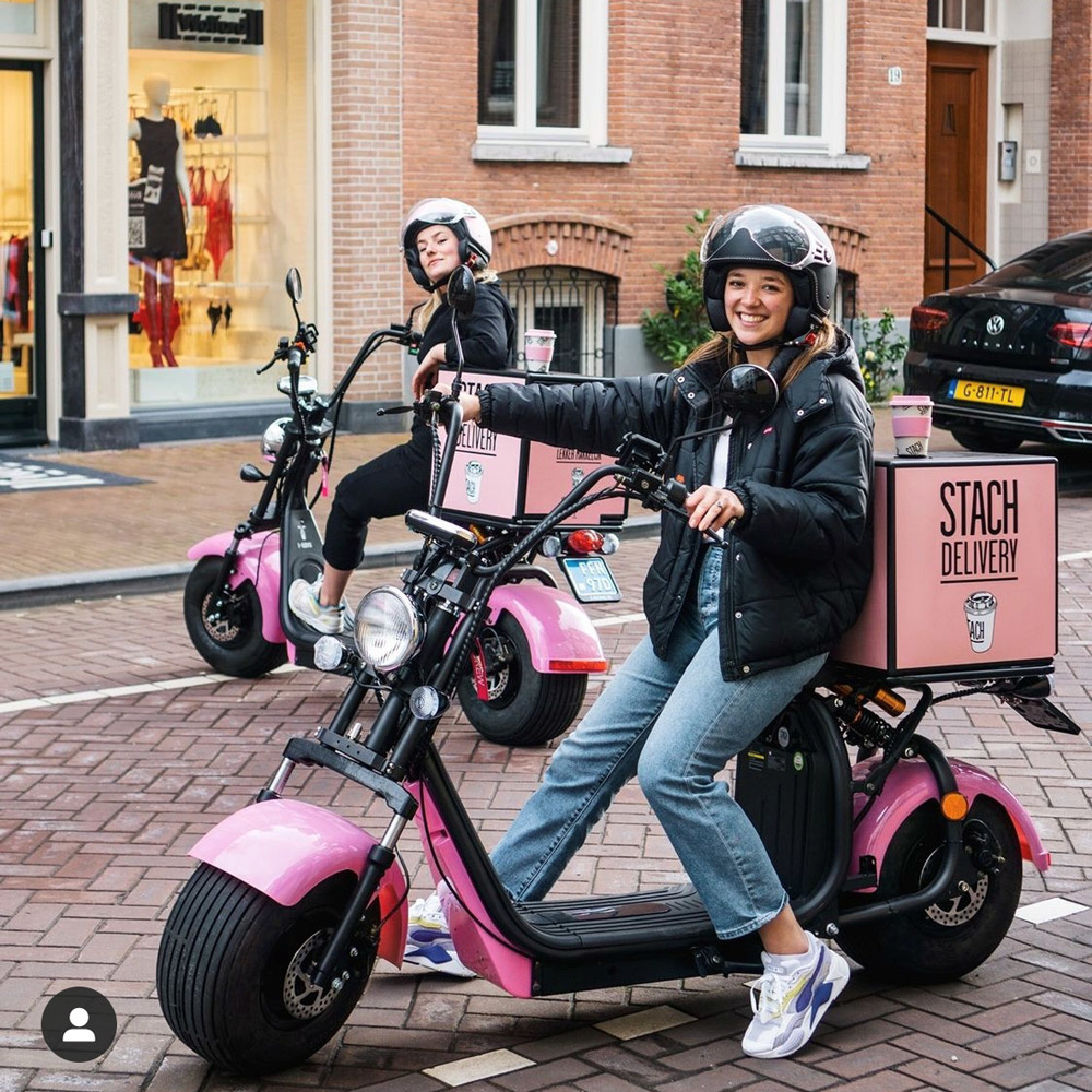 Elektrische bezorgscooters STACH - Maatwerk e-scooters E-Riding