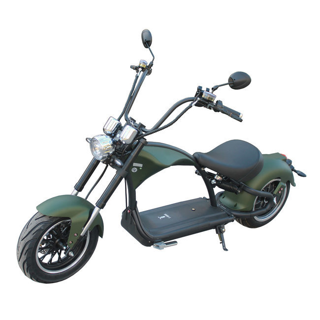 E-Chopper mat groen occasion model