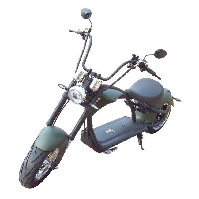 E-Chopper mat groen