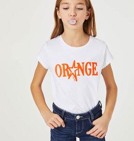 LIU JO Eco-friendly Orange T-shirt